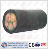 Câble électrique de haute qualité Utilisation spéciale dans la grue de construction / grue à tour