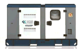Kipor/KnoxエンジンのタイプKiporの交流発電機のDse制御ディーゼル発電機Ks22p