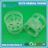 Anel Pall de plástico para colunas embaladas com longa vida útil