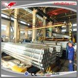Тонкая труба горячего DIP толщины 0.5mm-12mm гальванизированная стальная для лесов