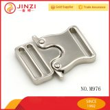 China Supply Metal Webbing Release Adjustable Buckle