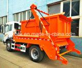 Carro de la basura del cargamento del salto de FAW, carro del cargador del salto