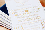 Brilla el Oro de la lámina de estampado en caliente de la transferencia de calor foil de aluminio en la Carta de papel de tarjeta de felicitación Tarjetas de regalo