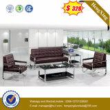 Домашняя мебель современная натуральная кожа для отдыхающих диван (HX-CS079)