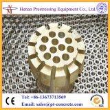Acoplador de ancoragem de tipo redonda pós-tensor para cabo pré-pressionado