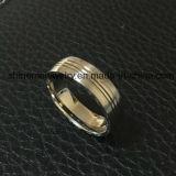 Shinemeの宝石類の方法宝石類のチタニウムのリング(TR1919)