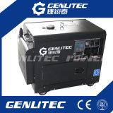 Генератор 5kw охлаженный воздухом портативный молчком тепловозный с пультом управления цифров