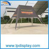 Tente bipolaire d'ombre d'étoile de plage d'impression extérieure de douane à vendre