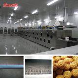 Forno de gás profissional do túnel para a fábrica do alimento com sistema de controlo do PLC
