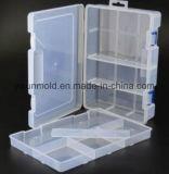 Подгонянная пластичная прозрачная ясная резцовая коробка хранения с крышкой