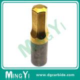 Stempel van het Carbide van de Deklaag van het Tin van de douane de Vierkante Hoofd met Zaagtand