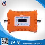 2018 Design de Moda repetidor de sinal 1800/2100MHz amplificador de sinal para um telemóvel