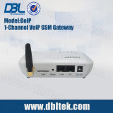 GoIP 1 GSM van VoIP van de Haven Gateway