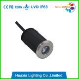 Lumière LED extérieure 1W sous IP68