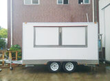주문 Suppling 이동할 수 있는 전기 음식 체더링 차 트럭 트레일러