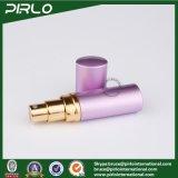 5ml esvaziam o frasco de alumínio Refillable do pulverizador do curso do perfume do atomizador roxo
