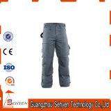 Baumwollarbeitskleidungs-Bohrgerät-Arbeits-Hosen mit Mutri-Tasche