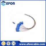 강철 관 소형 1*2 광학적인 PLC 쪼개는 도구 가격