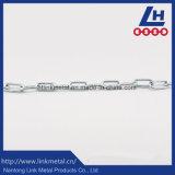 Catena a maglia galvanizzata elettrotipia dell'acciaio a basso tenore di carbonio DIN763