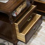 家庭内オフィスの家具(AS830)のための米国式の木のNightstand