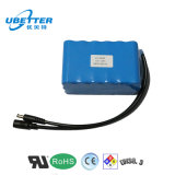 E 스쿠터를 위한 12.8V 24ah 고용량 LiFePO4 건전지 팩