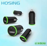 Заряжатель батареи автомобиля переходники миниый 5V 2.1A заряжателя автомобиля USB индикации СИД