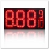 """10 """"Waterproof Outdoor LED Fuel Price Sign Display, IR-afstandsbediening Time Wisselkoersen Digital 7 segment LED Gas Prijs Signs"""