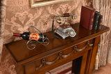 세륨 (340)를 가진 히이터 전기 벽난로가 MDF 호텔 가구에 의하여 LED 점화한다