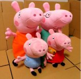 Juguete relleno aduana de la felpa del cerdo