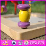 La nueva manera 2016 del diseño embroma la bola de madera W11b129 del juguete del laberinto