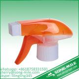 두 배 덮개 플라스틱 트리거 스프레이어 백색 빨간 원예용 도구
