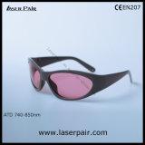 Alexandrite и Диодный лазер защитные очки с фиолетовый цвет объектива