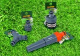 Raccords de tuyau de jardin Adaptateur de robinet d'eau double ABS Tap Connecteur