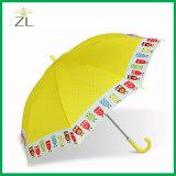 マンガのキャラクタCheap Kids Umbrella Companyが付いている防水ファブリック