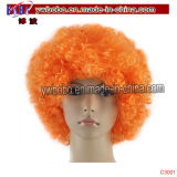 Jeux Olympiques Décorations Party Afro Hair Wig Party Supply (C3017)