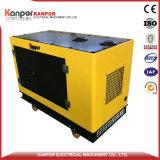 Nuovo prodotto con quattro rotelle sotto il generatore silenzioso del baldacchino 8kw-18kw