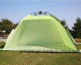 Im Freien Sun-Farbton-kampierendes Zelt-automatisches Strand-Zelt