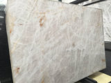 De opgepoetste Witte Plakken van het Onyx voor de Tegels van de Muur