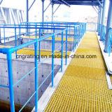 Haoyuan Anti-corrosión Industrial fibra de vidrio Grating