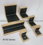 Rectángulo de empaquetado de madera hecho a mano natural para el regalo, joyería