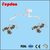 Lamp van de Verrichting van het plafond de ISO Goedgekeurde voor het Ziekenhuis (YD02-4+4LED)