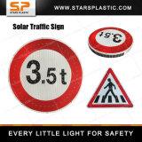 통합 알루미늄 도로 안전 태양 LED 교통 표지
