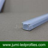 Profilo di alluminio di figura LED di T, espulsioni del LED, Manica del LED per l'indicatore luminoso del nastro del LED