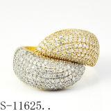 925 은 반지 형식 보석 공장 도매