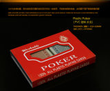 100% plástico PVC Poker Playing Cards