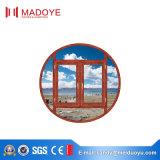 Окно Casement двойника поставщика Китая стеклянное алюминиевое