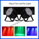 DMX512 IP20 LED 54PCS*3W 실내 Club/DJ 빛