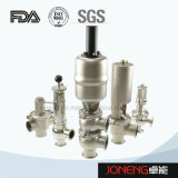 Control de fluido de grado alimentario de la válvula de acero inoxidable (JN1005)