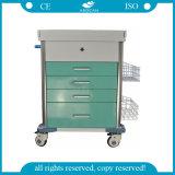 [أغ-مت025] عادية - قوة مستشفى الطبّ حامل متحرّك عربة طبّيّ