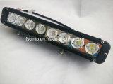 Sola barra ligera campo a través de la fila 4X4 LED con el montaje bajo